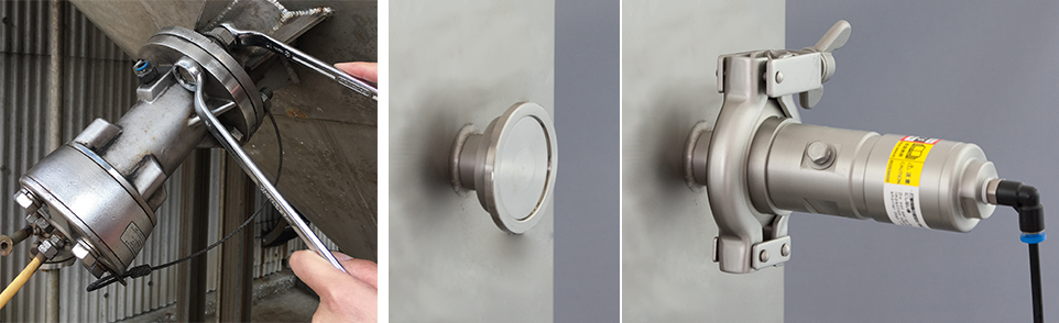EXEN Air Knocker Knockers with stainless steel-sanitary spec available as our standard model